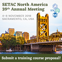 SETAC Sacramento training course proposals