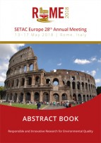 SETAC Rome abstract book cover