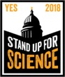 YES Stand Up for Science logo