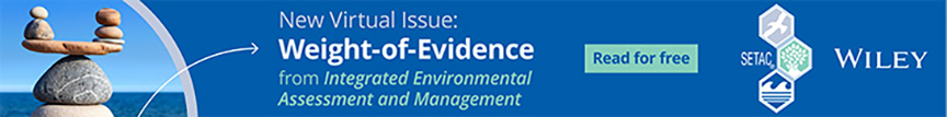 IEAM Virtual Issue: Weight-of-Evidence