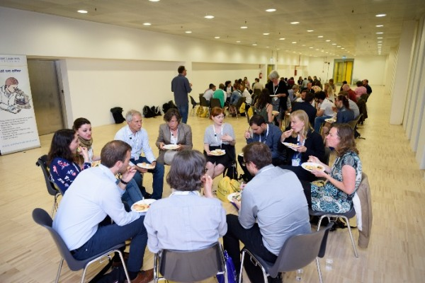 Student mentor lunch in Rome, 2018
