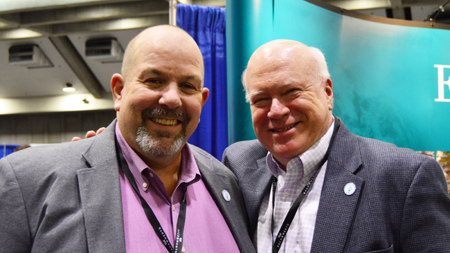 Tim Canfield and Bill Goodfellow