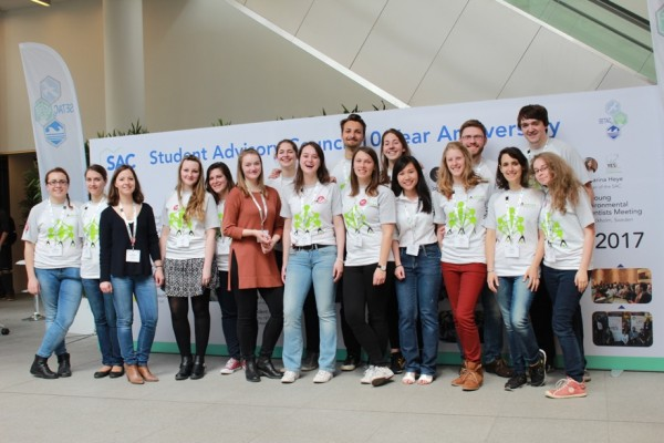 SETAC Europe student volunteers