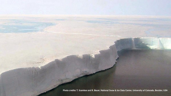 Scar Inlet Ice Shelf, Antarctica