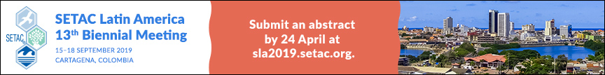 Submit an abstract for SETAC Cartagena by 24 April