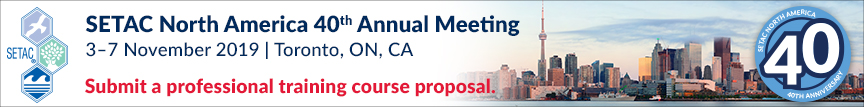Submit a professional training course proposal for SETAC Toronto
