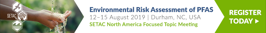 Register for the Environmental Risk Assessment of PFAS Meeting