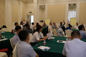 Meeting attendees of the SETAC Asia-Pacific Focused Topic Meeting