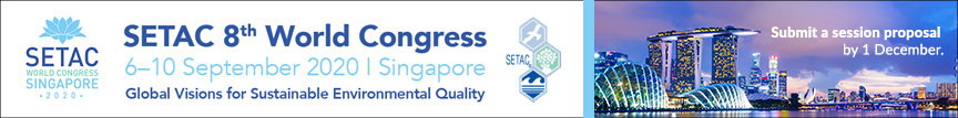 Submit a session proposal by 1 December for the SETAC 8th World Congress