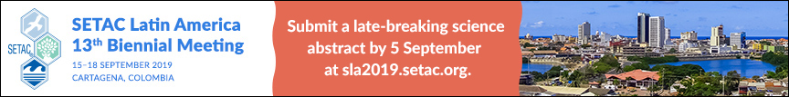 Submit a late-breaking science abstract for SETAC Cartagena