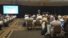 Full session room at SETAC PFAS meeting