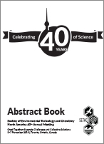 SETAC Toronto abstract book cover