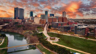 Fort Worth city scape