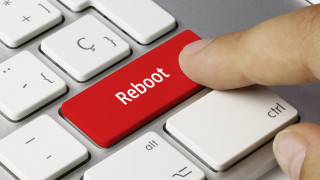 reboot button on computer keyboard